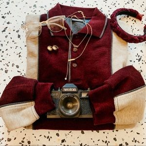 Vintage Oversized Boyfriend Pullover Sweater SZ XL